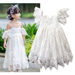 407abeea61a Ankle length dAnce dresses online shopping - Baby Clothes Princess Wedding  Dresses Bridesmaid Party Dress Kids