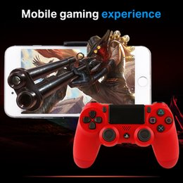 Wholesale Boxes Packaging Australia - Bluetooth Wireless PS4 Controller for PS4 Vibration Joystick Gamepad PS4 Game Controller for Sony Play Station With box Packaging DHL ship