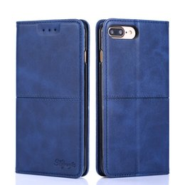 Filp Wallet Case Australia - Fashion Cover For iPhone 6 7 8 Plus Soft Cover Leather Filp Wallet Case For iPhone X XS XR Max