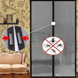$enCountryForm.capitalKeyWord Australia - 2018 Summer Anti Mosquito Curtain Magnetic Curtains Automatic Closing Door Screen Sheer Curtains Window Treatments Home Textiles