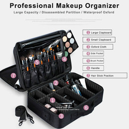 professional cosmetic bags Australia - 2019 New Professional Makeup Organizer Travel Beauty Cosmetic Case For Make Up Bolso Mujer Storage Bag Nail Tool Box Suitcases