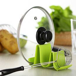 Colorful Kitchens Australia - 2019 New arrival Colorful Spoon Rack Rest Pot Pan Lid Rack Stand Holder Kitchen Cooking Utensil Tool Storage Holder Rack