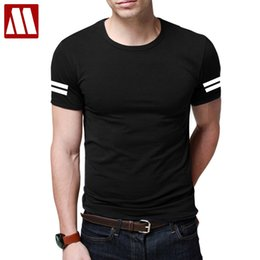 wicking shirts wholesale 2019 - High Quality Breathable Wicking Cool Casual tshirts Men Fitness Travel T-Shirts Fashion Summer Short Sleeve Cotton Tee S