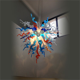 $enCountryForm.capitalKeyWord Australia - Turkish Style Art Decor Blown Glass Chandelier Ceiling Decorative Energy Saving Amazing Modern Blown Glass Chandelier Ceiling