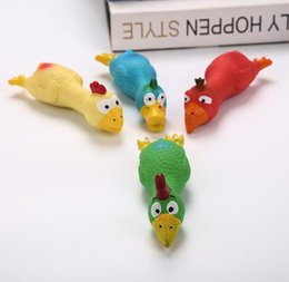 pet toy chicken Australia - Dog latex toys, pet sounding screaming toys, chicken spoofing toys, bite-resistant W1263