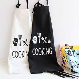 $enCountryForm.capitalKeyWord NZ - Original Japanese apron cotton and linen painting clothes kitchen work clothes shop clothing bakery bake cotton apron
