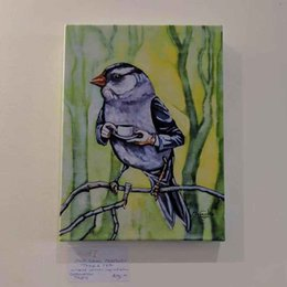 $enCountryForm.capitalKeyWord NZ - OLD SAM PEABOBY TAKES TEA High Quality Handpainted &HD Printed Abstract Birds Wall Art oil painting On Canvas Multi Sizes Frame Options