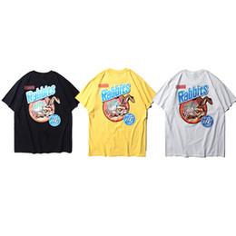 a2822199 Rabbit tee shiRt online shopping - 19ss Fxxking rabbits T shirt Men Women f  Best Quality
