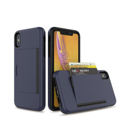 $enCountryForm.capitalKeyWord Australia - Hot selling credit hidden card holder cheap tpu phone case TPU+PC case for iPhone X cell phone case