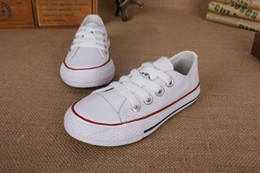 Kids Canvas Shoes Australia - New Kids Shoes Sneaker Fashion Simple Canvas Leisure Boys and Girls Athletic Running Sport Shoes European size 23 - 31