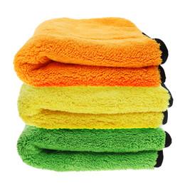 $enCountryForm.capitalKeyWord Australia - 45 * 38 Car Super Thick Soft Microfiber Towel Absorbent Car Cleaning Towel Care Wax Polishing Detailing