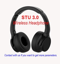 3.5mm high quality earphone Canada - High quality Brand STU 3.0 Wireless Headphones sport earphones stereo sound gaming headband Wireless headsets for Android ISO free shipping
