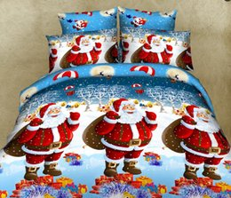 $enCountryForm.capitalKeyWord Australia - High Quality 100% Polyester Christmas Gift 3Pcs 4Pcs Christmas Bedding Set Duvet Cover Bed Sheet Pillowcase Twin Full Queen King