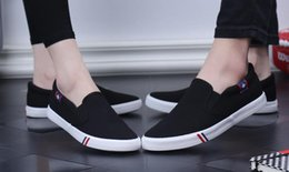 White Cotton Slips Australia - Men Canvas Shoes White Women's shoes Sneakers Casual Loafers Mocassim Male shoes Adult Slip On Flats Summer Mens Trainers zapatos de hombre