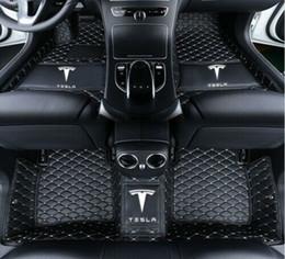 $enCountryForm.capitalKeyWord NZ - For Fit Car floor mats all Tesla s x 3 2016-2018 Waterproof MatMats Non toxic and inodorous waterproof floor mats