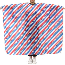 Salon Cloth Australia - cape barber 2 Styles Pro Salon Stripe Hairdressing Cape Barber Hairdresser Haircutting Wrap Waterproof Cover Gown Apron Hairstylist Cloth