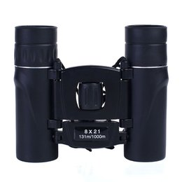 Binoculars Bak4 online shopping - Foldable Binoculars x21 HD Waterproof FMC Coated Binocular Telescope with BAK4 prism Outdoor Camping Hiking Bird watching Tools