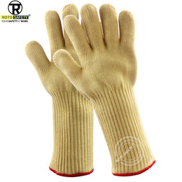 insulated bbq gloves Australia - 500 Celsius Heat Resistant Gloves Great For Oven BBQ Baking Cooking Mitts In Insulated Gloves Kitchen Tastry Tools