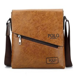 $enCountryForm.capitalKeyWord Australia - Nice Pop Arrival Polo High-quality Pu Messenger Bag Fashion Brand Business Crossbody Bag Brand Polo Shoulder Briefcase