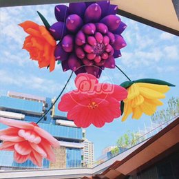 $enCountryForm.capitalKeyWord Australia - Inflatable fleshy flower model inflatable hanging flower for shopping mall decoration landscape art model