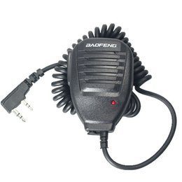 baofeng speaker UK - Baofeng Speaker Mic Microphone for Baofeng UV-5R Dual Band Radios PTT Microphone for Civilian Radio Baofeng Speaker MK-1030