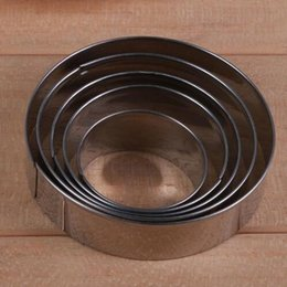 $enCountryForm.capitalKeyWord NZ - Cookie Cutter Cake Cutter Stainless Steel Round Cake Mold Star Biscuit Mould Fondant Cutting Pastry Cutter Dropshipping