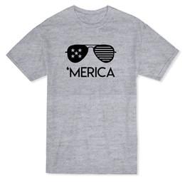 $enCountryForm.capitalKeyWord Australia - Urban 'Merica Glasses Graphic Men's T-shirt Loose Clothes T Shirt Discount 100 % Cotton T Shirt for Men'S