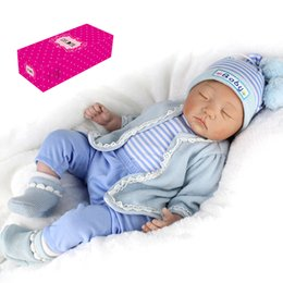 $enCountryForm.capitalKeyWord Australia - Decdeal 3 Types Reborn Baby Doll Sweet Face 55cm Realistic Soft Dolls Baby Gifts with Pink Sweater Hat and Bear Toys for Kids
