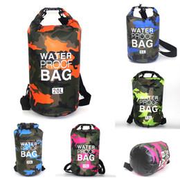 $enCountryForm.capitalKeyWord Australia - Camouflage Waterproof Bag 2L 5L 10L 15 L 20L 30L Waterproof Dry Bag Portable PVC Swimming Bags For Rafting Kayaking Sailing Boating M240Y