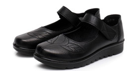 $enCountryForm.capitalKeyWord Australia - 2019 Women's shoes in Spring and Autumn with New style flat bottom round head Anti-skid and portable mother shoes @358