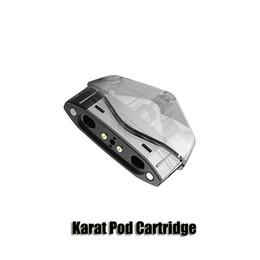 100% original Karat Pod Cartucho Reemplazo de 2 ml Innovador 1.3ohm Cartuchos de bobina de cuarzo para Smoant Karat Vape Kit auténtico