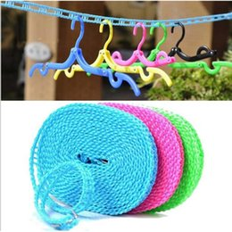 Clothes Hanger Rope Australia - Fashion Multi-functional Nylon Hanger Dry and Wet Clothes Non-Slip Hang Clothes Rope Fashion Multi-functional Hang Clothes Rope