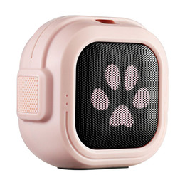 $enCountryForm.capitalKeyWord UK - 2019 popular mini cute Bluetooth 4.0 Wireless Speaker Portable FM radio TWS Sound Box Scratches Footprint Elk design bocinas BT boombox hot