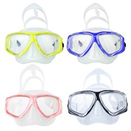 China Scuba Diving Mask And Snorkels Anti-Fog Goggles Diving Mask Tempered Glass Goggle Scuba For Swimming Snorkeling supplier diving glass mask anti fog suppliers