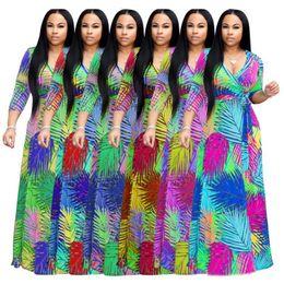 $enCountryForm.capitalKeyWord Australia - womens one piece dress long sleeve summer skirt designer dress Maxi-dresses high quality loose dress elegant luxury clubwear