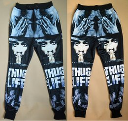 6353c14362bf4d 2015 new fashion men women s sport jogging pants 3D print Tupac 2Pac cool skinny  sweatpants track running joggers trousers