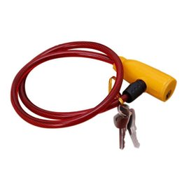 $enCountryForm.capitalKeyWord NZ - Excellent Security Cable Wire Lock For Bikes Bicycles Cycling Parking 2 Keys #689297