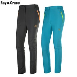 6ad29eb3e6dc Ray Grace Quick Dry Lightweight Hiking Pants Summer Women Outdoor Pants Men  Thin Comfortable Water Resistant Trousers Trekking