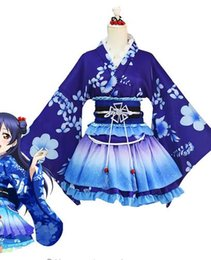 Wholesale love live cosplay for sale - Group buy LoveLive Cosplay Sonoda Umi Cosplay Costume Kimono Love Live Nishikino Maki Honoka Honoka Eli Kimono Costume