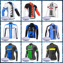 $enCountryForm.capitalKeyWord Australia - GIANT Cycling Winter Thermal Fleece jersey Winter style Outdoor Sports Racing pro Clothing Comfortable Wear resistant 52032