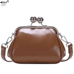 $enCountryForm.capitalKeyWord Australia - Cheap Shoulder 2019 New Retro Fashion Vintage Bag Bags PU Leather Women Handbags Kiss Lock Mini Small Crossbody Shoulder Bags Bag