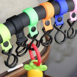 $enCountryForm.capitalKeyWord Australia - Hot Sale Multi Purpose Baby Nylon ribbon stroller hanger Hook Clips infant Pushchair Toddler Carriage Accessories