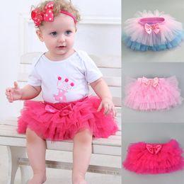 4f4eb810c baby Kids Girl skirt Petticoat Tulle Pettiskirt Bowknot Tutu Skirt Tiered  Skirts Dancewear Pettiskirt Tutu Photo Props