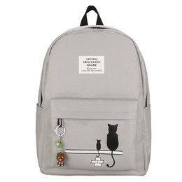 Style Prints Australia - Women Backpack For School Teenagers Girls Campus Style Stylish Ladies Backpack Female Printing High Quality Travel