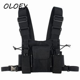 Chinese  Chest Rig Bags Hip-Hop Tactical Harness Bag for Men Oxford Waterproof Fashion Streetwear Functional Package Kanye West! manufacturers