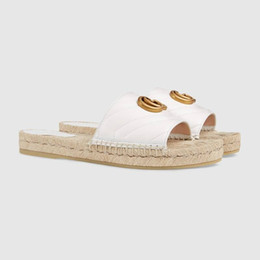fishermen flats UK - Early spring classic light fisherman shoes, Espadrille Flats with Straw Weaving Soles Casual Women slippers Slip-on for Daily Use