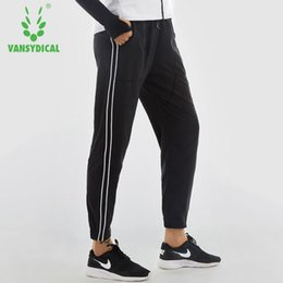 $enCountryForm.capitalKeyWord Australia - 2018 Women's Running Pants Elastic Waist Plus Size Pants Loose Thin Female for Training and Basketball Jogger Trousers