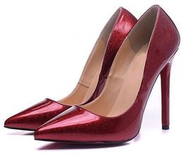 $enCountryForm.capitalKeyWord Australia - 2019 new women designer shoes Summer Red Bottom Bare leather sandals soft navy leather 65mm elegant slender straps surprisingly comfortable