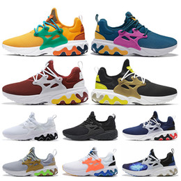 shoes mens presto Australia - Breathable BEAMS x React Presto DHARMA Running Shoes Witness Protection Barely Volt Rabid Panda Triple Black Mens Reacts Shoes WMN Sneakers