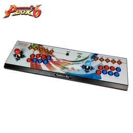 arcade game box NZ - The latest design arcade double rocker game controller with Pandora's Box 6 multi game board ,1300 game in 1